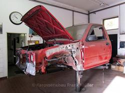 Fahrerhaus VW Taro zerlegt
