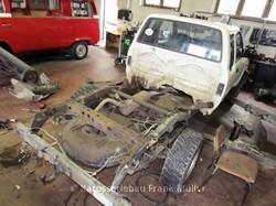 VW Taro Fahrerhaus und Rahmen