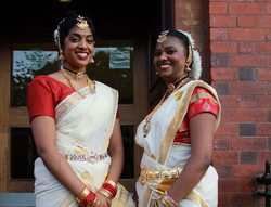 classical  indian dance costume