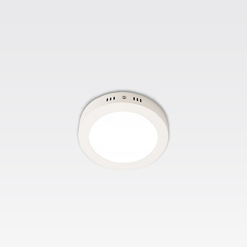 Hamburg Ceiling Lamp In White Frame (12W/Round)