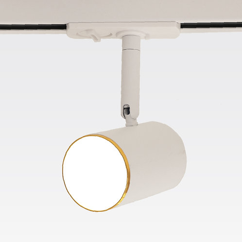 Mero Tracklight (Gold Trim/White)