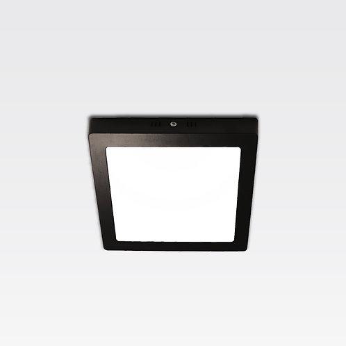 Hamburg Ceiling Lamp In Black Frame (18W/Square)