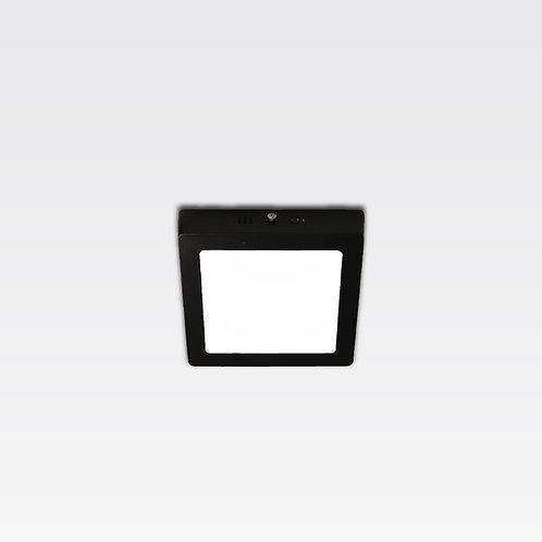Hamburg Ceiling Lamp In Black Frame (12W/Square)