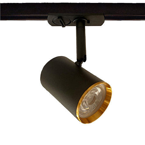 Mero Tracklight (Gold Trim/Black)