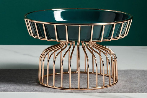 Emerald Plate Stand