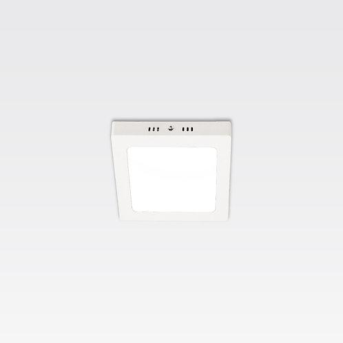 Hamburg Ceiling Lamp In White Frame (12W/Square)