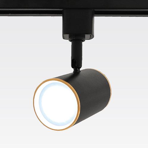 Rosa Tracklight (Gold Trim/Black)