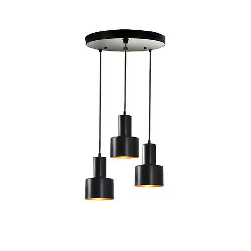 Lamp Attachment Unit (Black Round)