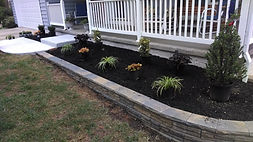 Front of  residence we landscaped.