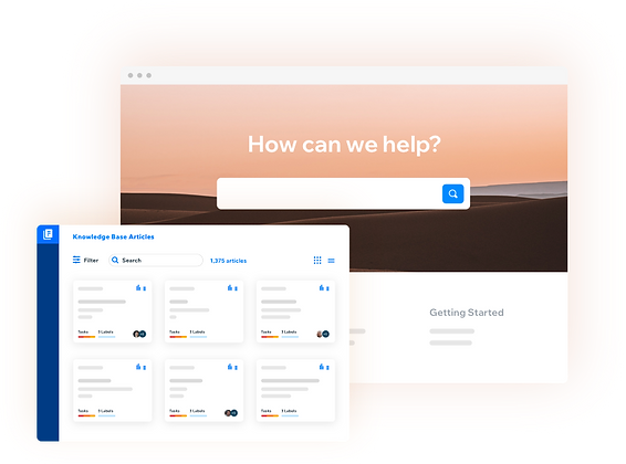 Rethink knowledge management with Wix Answers