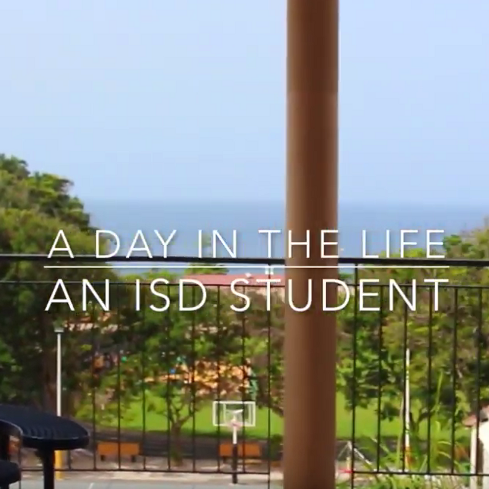 A Day in the Life of An ISD Student