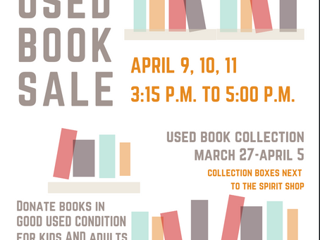 PTO News: Used Book Sale