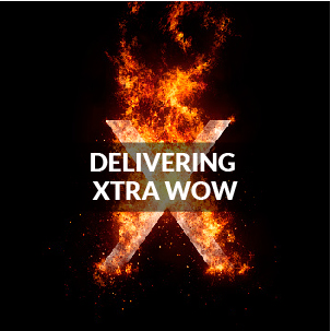 DELIVERING EXTRA WOW