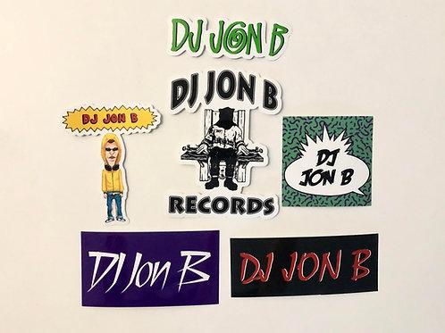 Jon B Sticker Pack