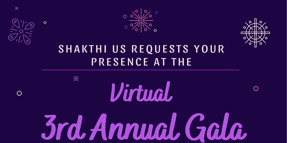 Shakthi's Virtual 3rd Annual Gala