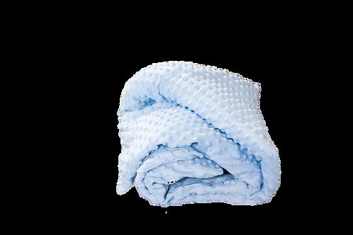 Plaid bébé doublée minky coton - couverture bébé doublée minky coton