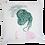 """Thumbnail: Housse de coussin décoratif """" femme de dos"""""""