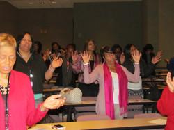 Prayer at Workshops
