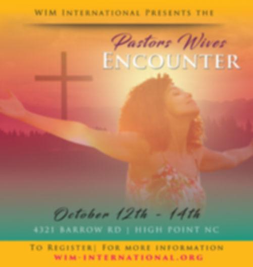 WIM International, Pastors' Wives Encouter, Triad Chrisitan Center, Retreat