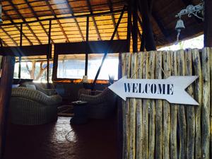 Chinaka Lodge lounge area