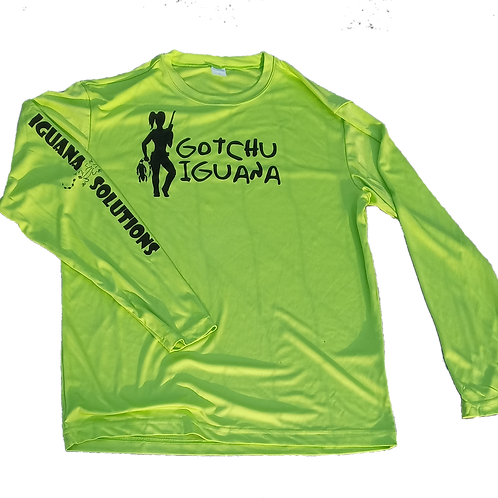 Generation 1: Long Sleeve Polyester Lime