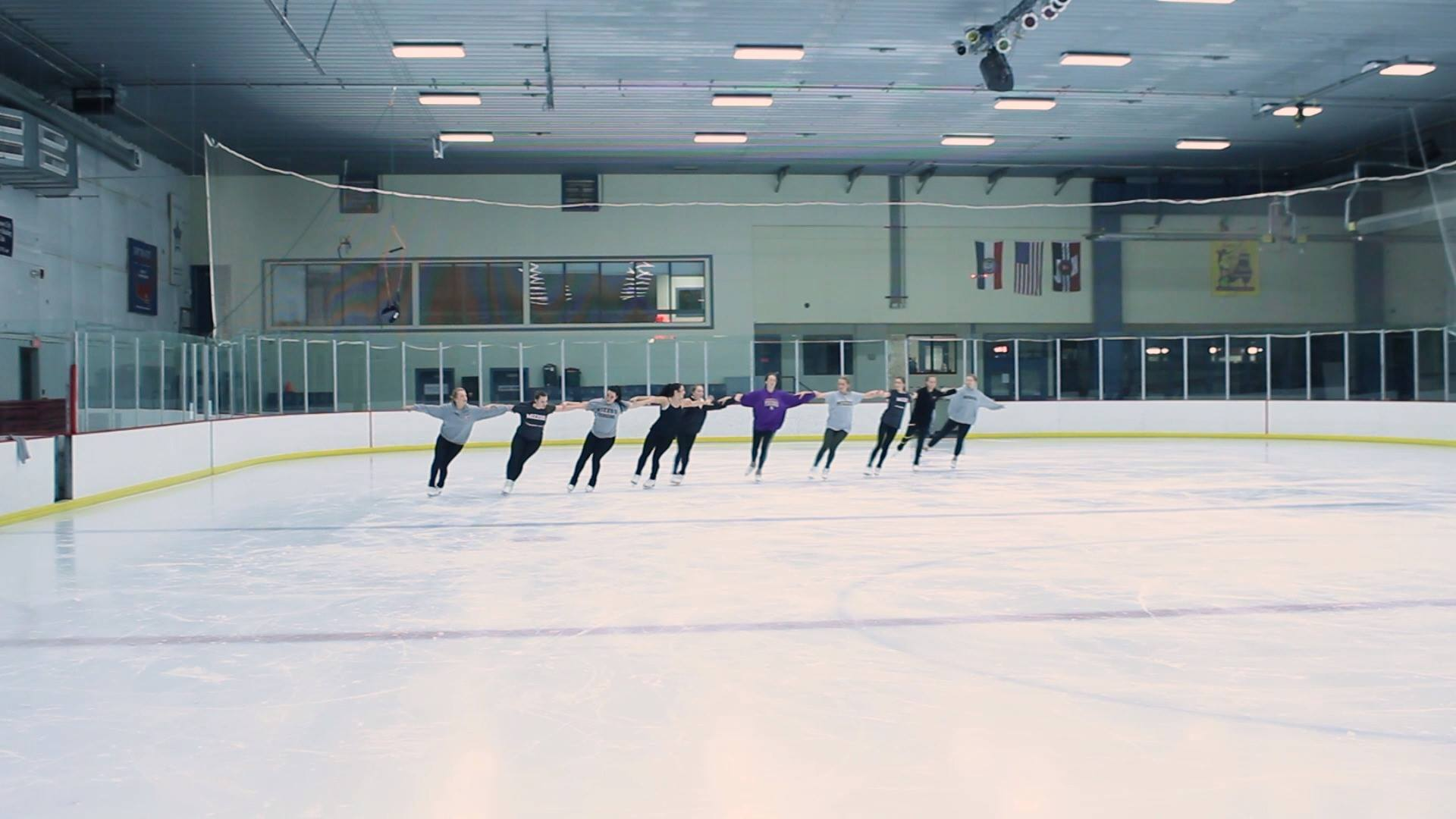 Meet MU Synchronized Skating Team