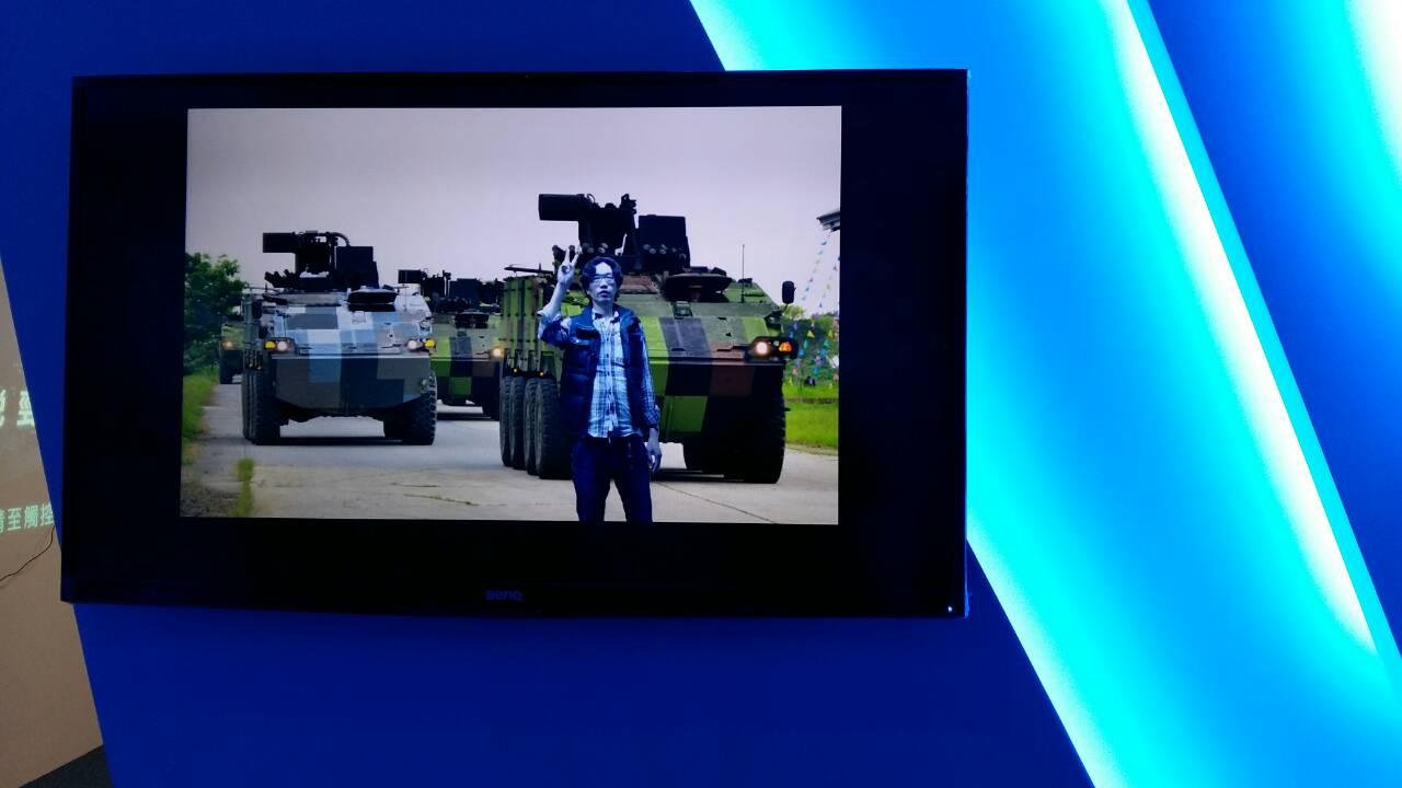 虛擬實境互動拍照系統