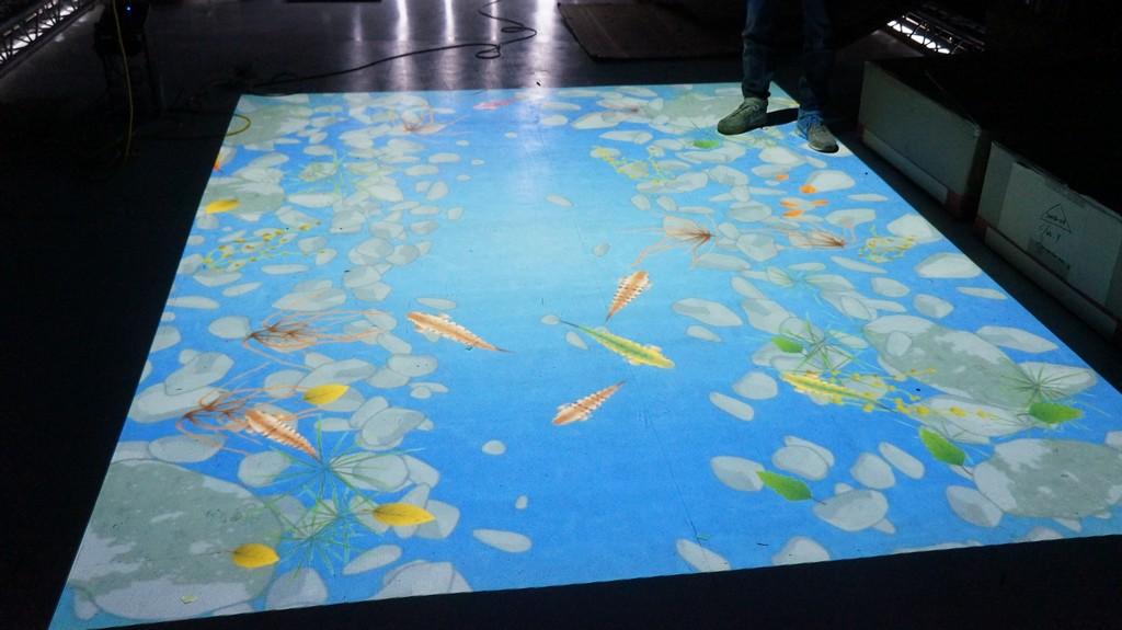 台灣燈會互動魚池