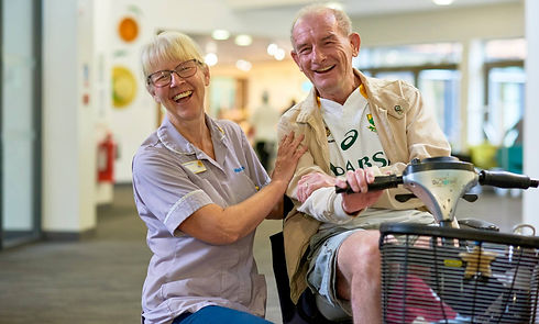 nurse-and-patient-laughing-at-solihull-h