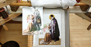 St. John Cantius chasuble coming along