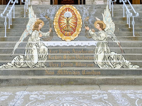 Corpus Christi Painted Stairs