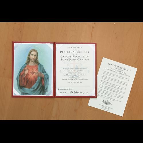 Enrollment with Sacred Heart folder