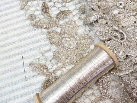 It all started with a piece of silver lace.
