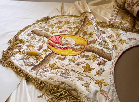 Sacred Heart Cope Restoration