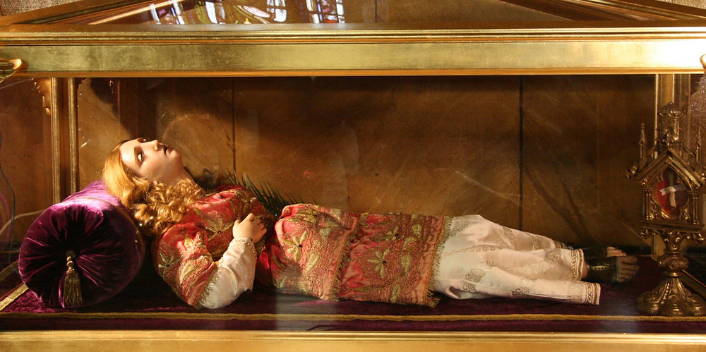 simulacrum of Saint Lucy