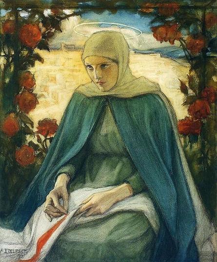 Albert-Edelfelt-The-Virgin-Mary-in-the-R