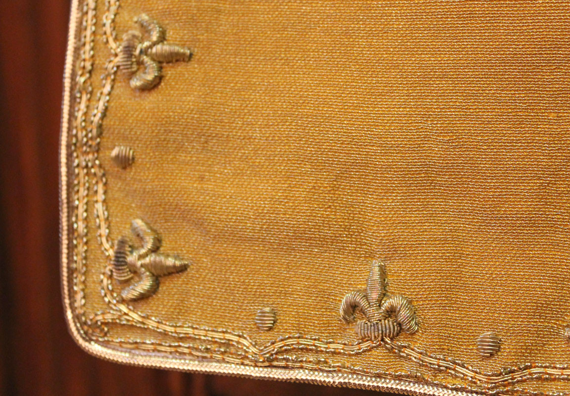 French Gold chalice veil detail 1