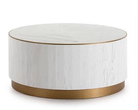 Table basse luxe bois et métal ORION