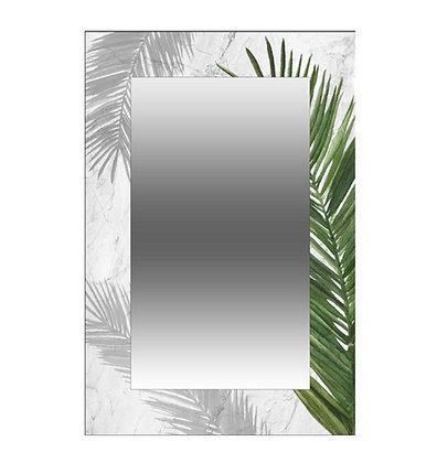 Miroir Rectangle Déco Palmiers - Collection HARMONY