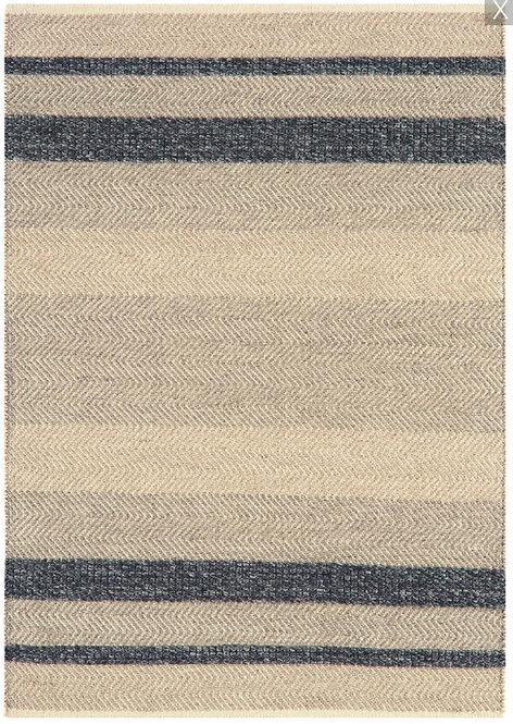 Tapis de salon laine et coton CAMPO Ebony