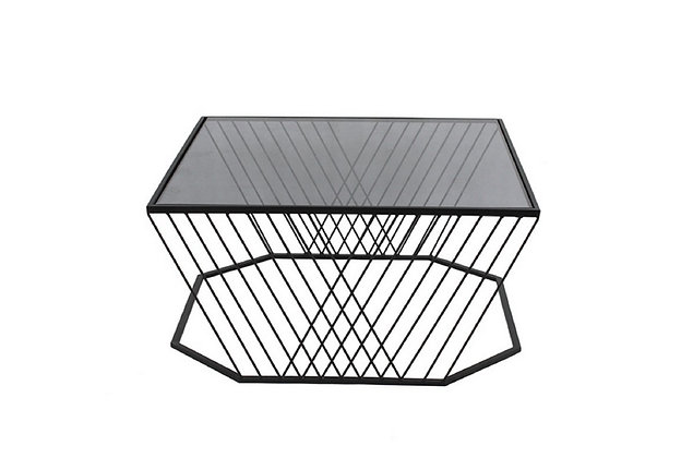 Table Basse Design Verre fumé - Collection ELECTROCHIC