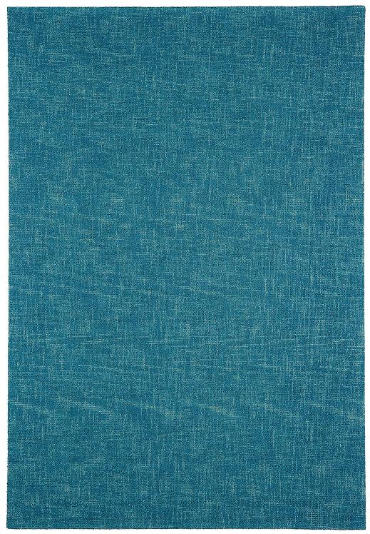 Tapis salon Laine SCOTTISH Turquoise