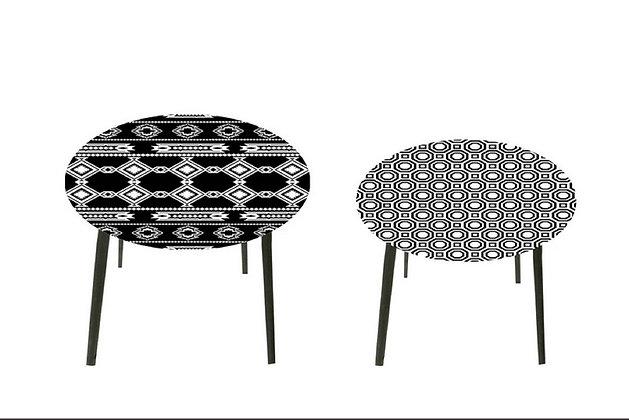 Ensemble tables gigognes design - Collection HARMONY