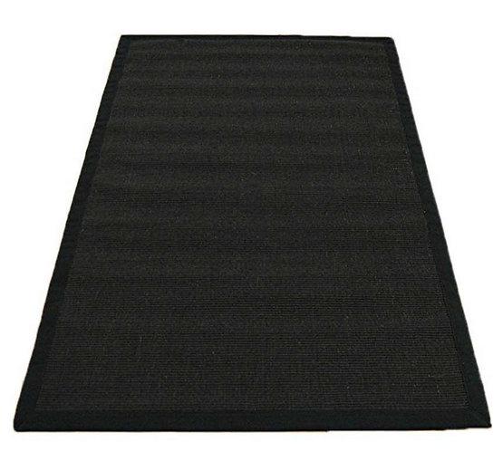 Tapis Sisal Moderne LINDO Black
