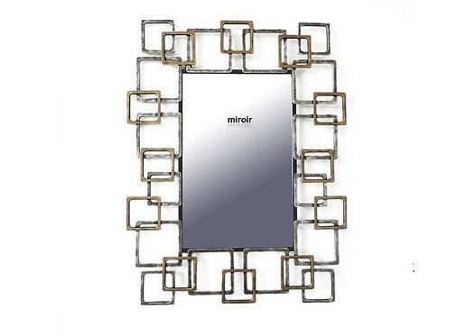 Miroir Rectangles Design - Collection DEL ARTE