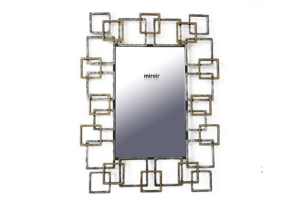 Miroir Rectangles Design - Collection DEL ARTE