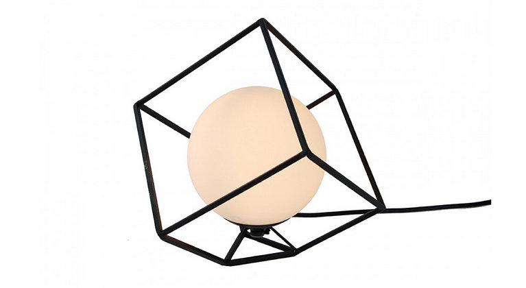 Lampe Design Cube 3D Sphère verre - Collection HOME DESIGN