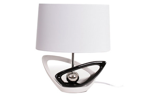 Lampe Voiles Noir/Blanc - Collection INTIMATE