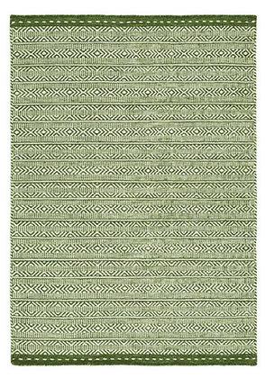Tapis de Salon Design Réversible Uni FORTE Vert