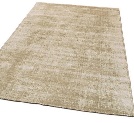 Tapis de salon moderne Uni LAME Putty